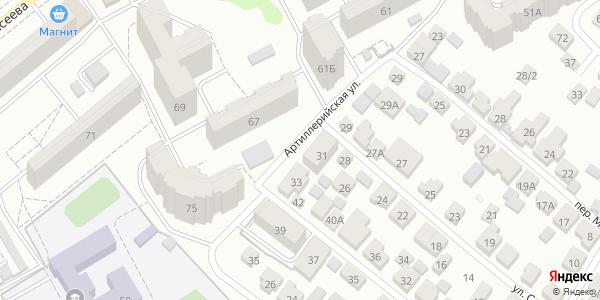 Артиллерийская Улица в Воронеже
