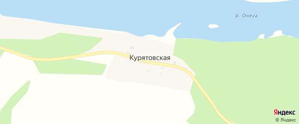 Курятовская улица на карте Курятовской деревни с номерами домов