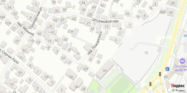Пожарского Переулок в Воронеже