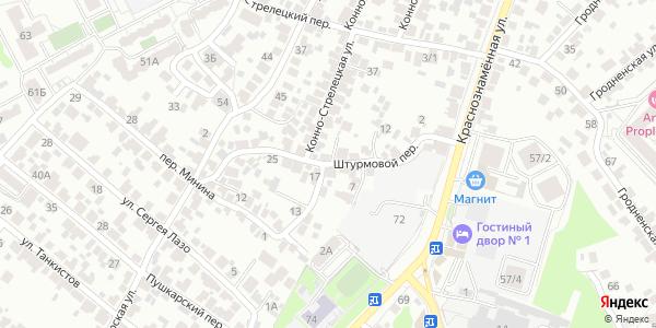 Штурмовой Переулок в Воронеже