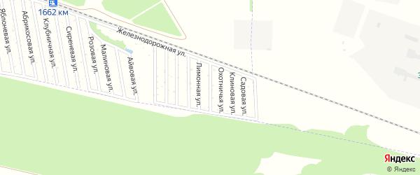 Профсоюзная улица на карте садового некоммерческого товарищества Дружбы-14 с номерами домов