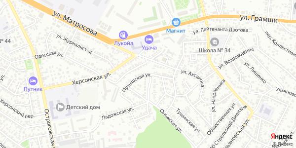 Иртышская Улица в Воронеже
