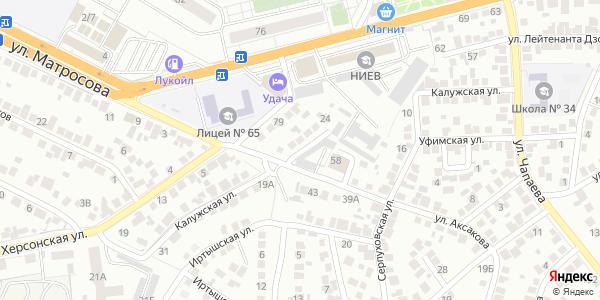Калужская Улица в Воронеже