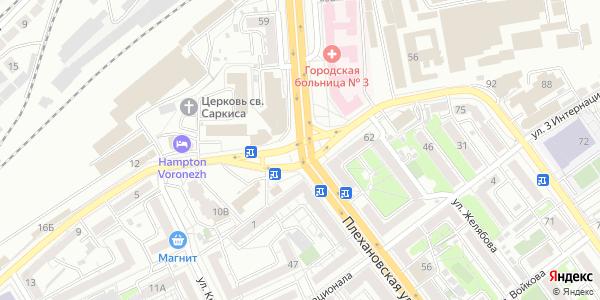 Застава Площадь в Воронеже