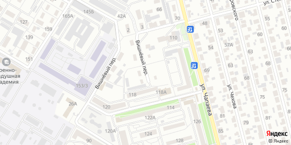 Вишневый Переулок в Воронеже