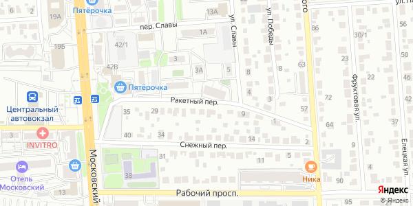Ракетный Переулок в Воронеже