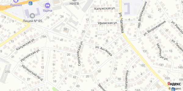 Аксакова Улица в Воронеже