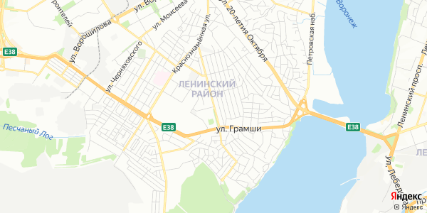 Чапаева Улица в Воронеже
