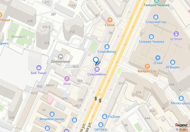 469fd1507079 Кольцовская улица, 56 на карте-панораме Воронежа, организации, фото ...