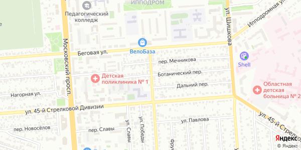 Ботанический Переулок в Воронеже