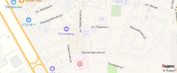 Дорога А/Д Подъезд к ж/д станции Псекупс на карте Адыгейска с номерами домов