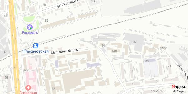 Мельничный Переулок в Воронеже