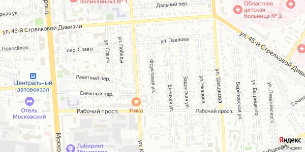 Фруктовая Улица в Воронеже