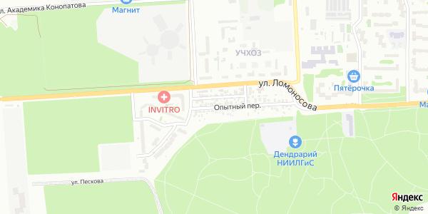 Опытный Переулок в Воронеже