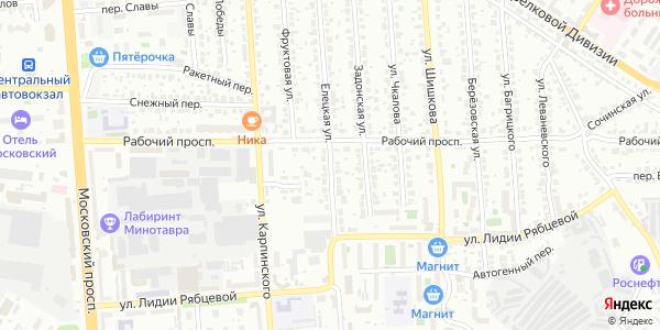 Елецкая Улица в Воронеже