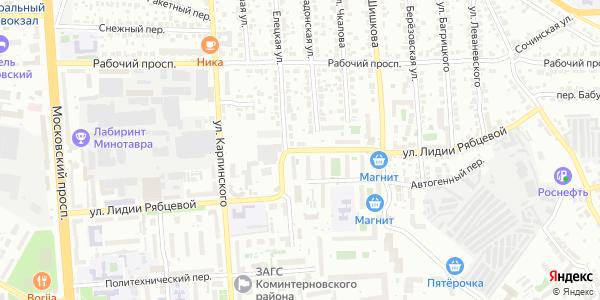 Лидии Рябцевой Улица в Воронеже