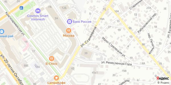 Станкевича Улица в Воронеже