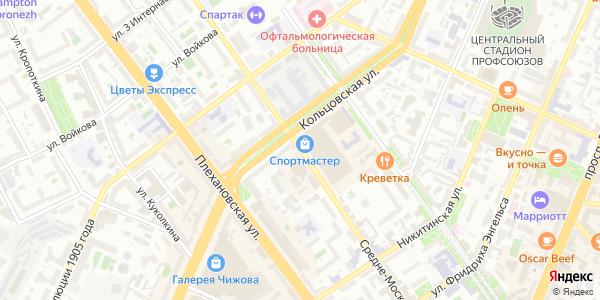 Средне-Московская Улица в Воронеже