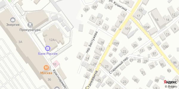 Бестужева Переулок в Воронеже
