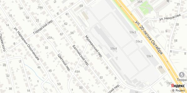 Мурманский Переулок в Воронеже