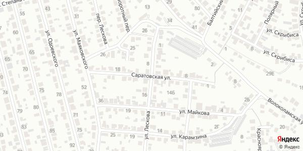 Саратовская Улица в Воронеже