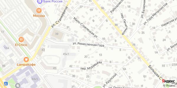 Ремесленная гора Улица в Воронеже