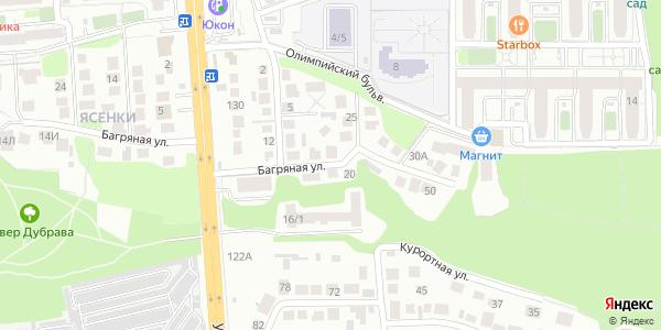 Багряная Улица в Воронеже