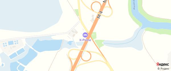 Участок Южный проезд к А/М ДОН на карте аула Новой Адыгеи с номерами домов