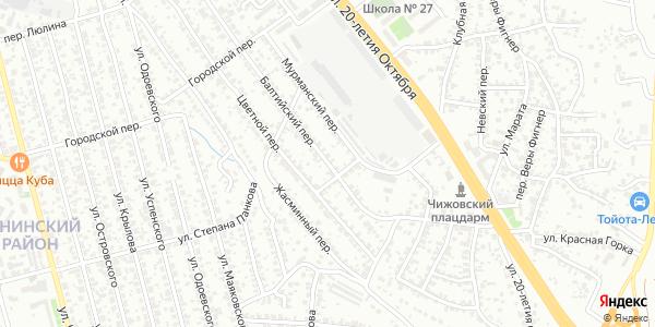 Балтийский Переулок в Воронеже
