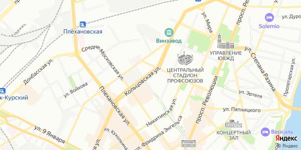 Кольцовская Улица в Воронеже