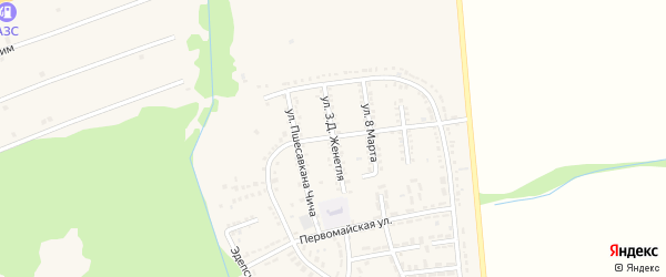 Дорога А/Д Подъезд к а. Гатлукай на карте Адыгейска с номерами домов