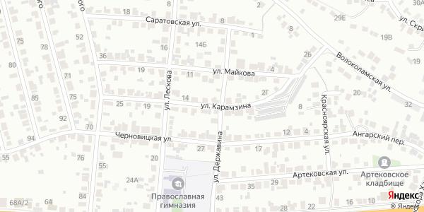 Карамзина Улица в Воронеже