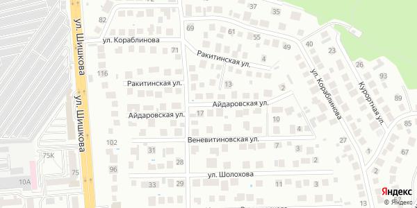 Айдаровская Улица в Воронеже