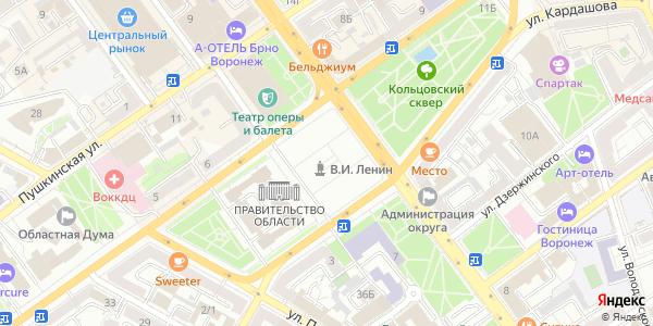Ленина Площадь в Воронеже
