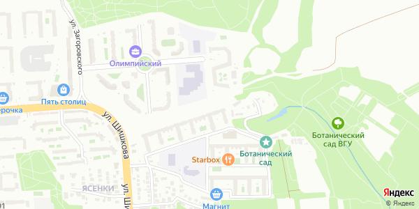 Олимпийский Бульвар в Воронеже