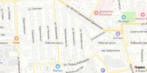 Багрицкого Улица в Воронеже