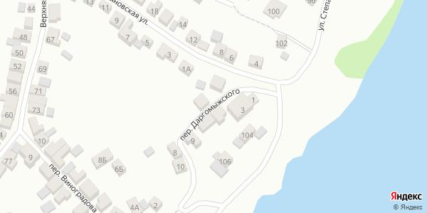 Даргомыжского Переулок в Воронеже