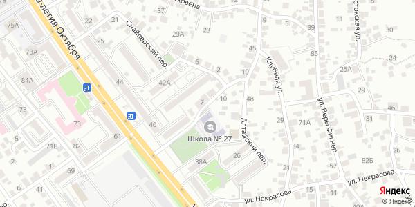 Алтайский Переулок в Воронеже