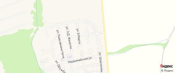 Улица Г.М.Кошакова на карте Адыгейска с номерами домов