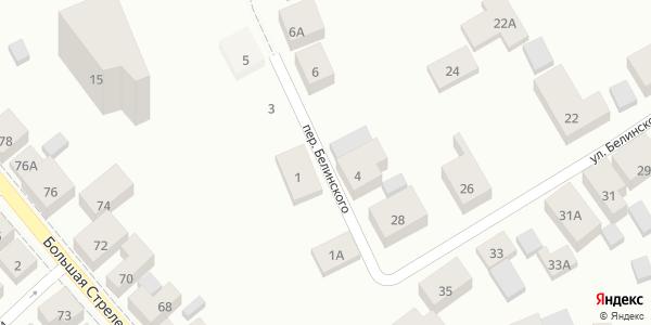 Белинского Переулок в Воронеже