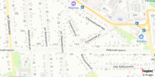 Сочинская Улица в Воронеже