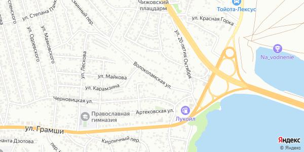 Волоколамская Улица в Воронеже