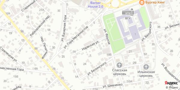Нарвская Улица в Воронеже