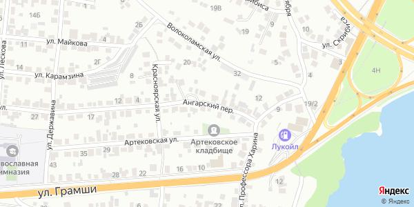 Ангарский Переулок в Воронеже