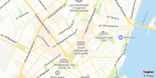Карла Маркса Улица в Воронеже