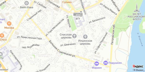 Фрунзе Улица в Воронеже