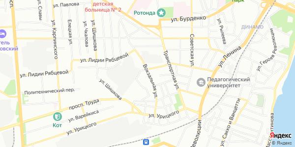 Вокзальная Улица в Воронеже