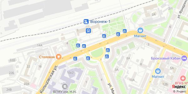 Генерала Черняховского Площадь в Воронеже