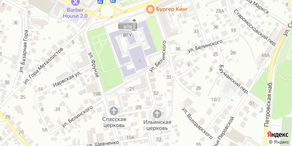 Белинского Улица в Воронеже