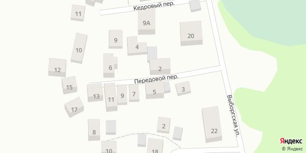 Передовой Переулок в Воронеже